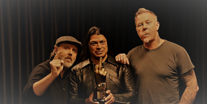 METALLICA, THE NME AWARD WINNER OF 2017