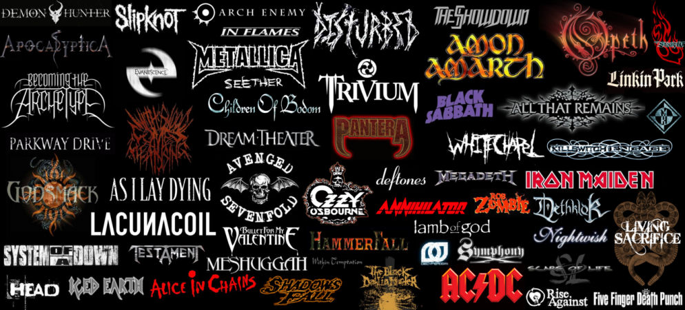Heavy Metal Bands All You Wanna Know